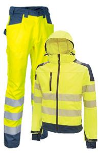 Höhe Sichtbarkeit Arbeitskleidung