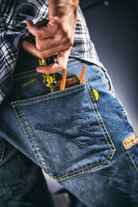 Jeans Arbeitshose